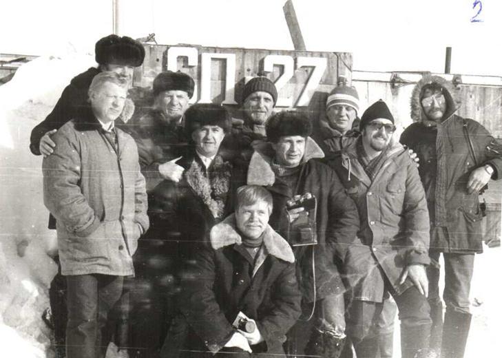 Участники арктического похода