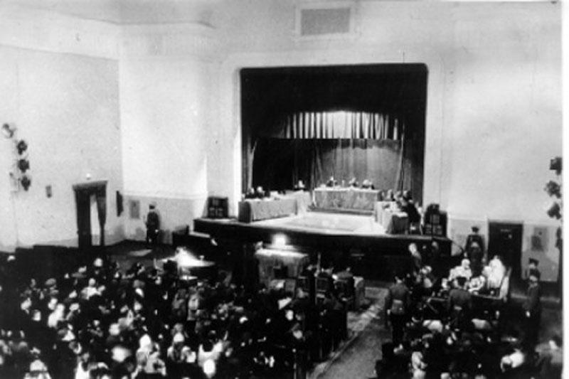 Судебный процесс над нацистскими преступниками в Севастополе