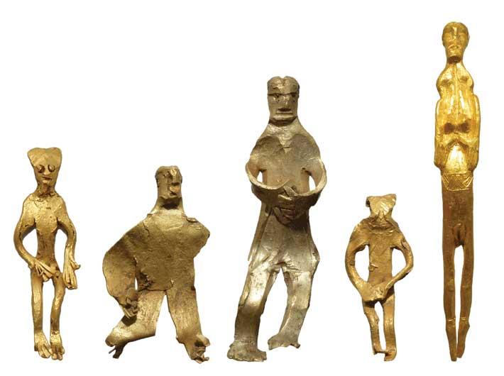 Золотые фигурки, Дания
