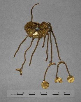 Золотые изделия III в до н.э. обнаружены на Ставрополье