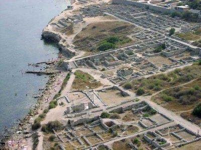 Херсонесские раскопки и Черноморский флот
