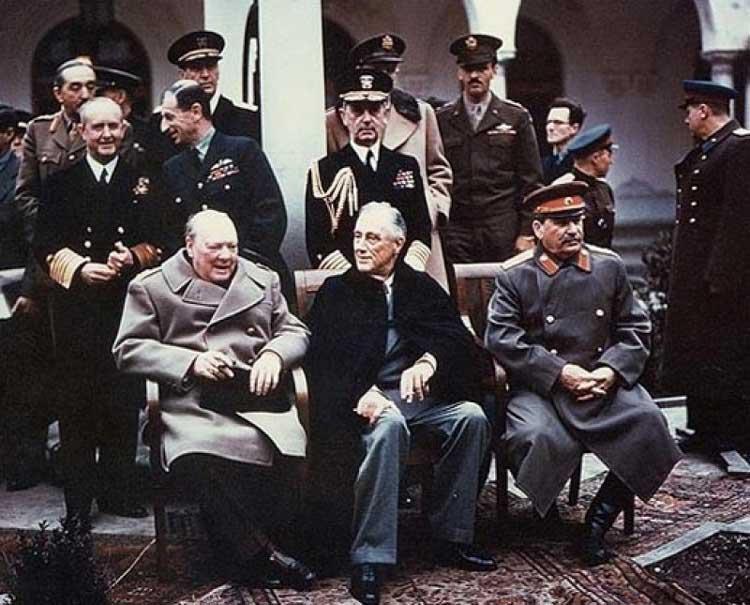 Ялтинской конференции ведущих стран антигитлеровской коалиции 1945 года