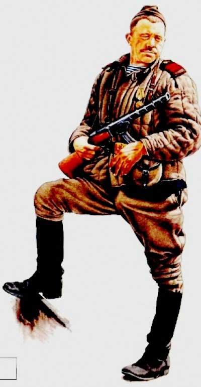 Морской пехотинец в 1943 - 1945 годах