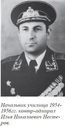 Контр-адмирал Нестеров И.М.