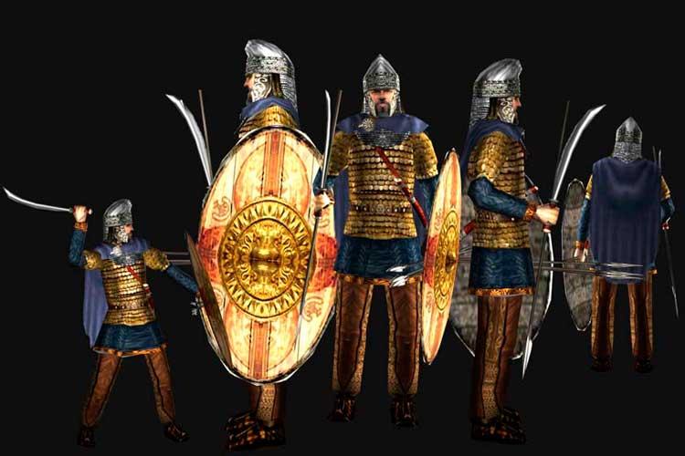 Бастарны, воины бастарнов, племя бастарнов