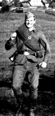 Морской пехотинец Черноморского флота, 1955 год.