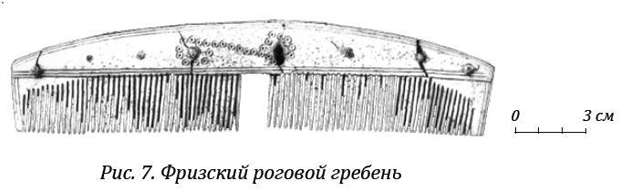 Рис. 7. Фризский роговой гребень