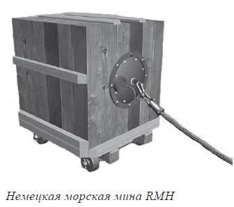 Немецкая морская мина RMH