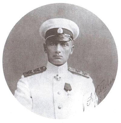 вице-адмирал Александр Васильевич Колчак, командующий Черноморским флотом