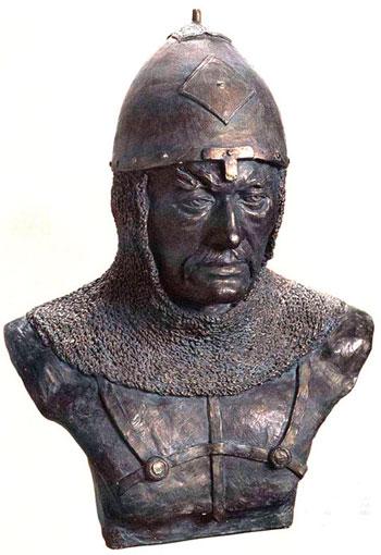 половец - куман (Реконструкция по черепу из кургана у села Квашниковка Саратовской области)