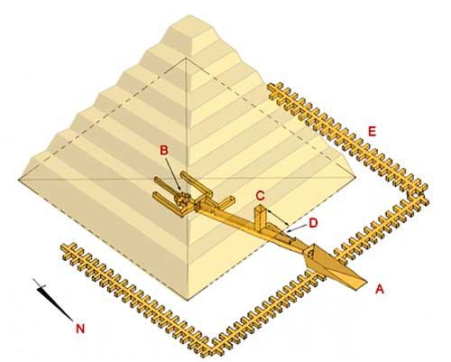 план пирамиды Сехемхета