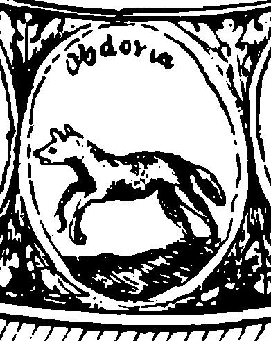 ерб Обдоры = города или области Бетики в Испании или Абдеры во Фракии, или Франции на Государственной печати Российской Империи XVII века