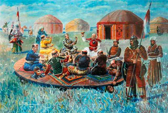 Древние монголы
