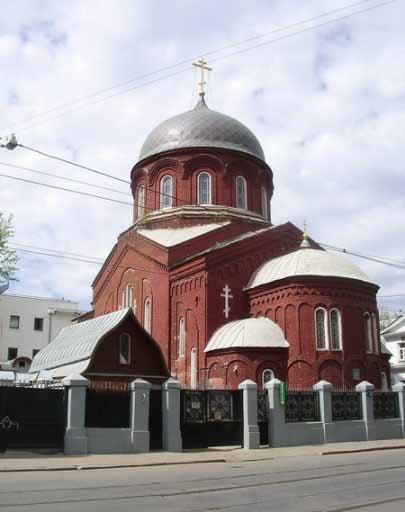 Храм Покрова в Замоскворечье
