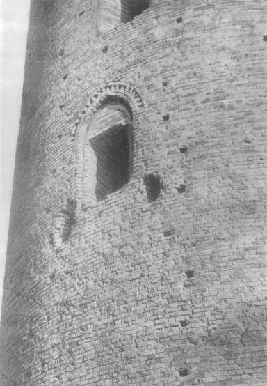 Деталь башни в Каменце-Литовском
