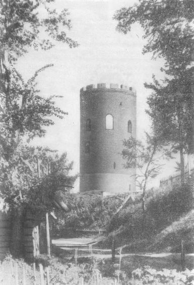 Башня в Каменце-Литовском. Вторая половина XIII в.