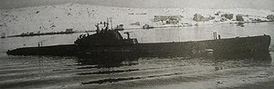 подводная лодка Щ-424