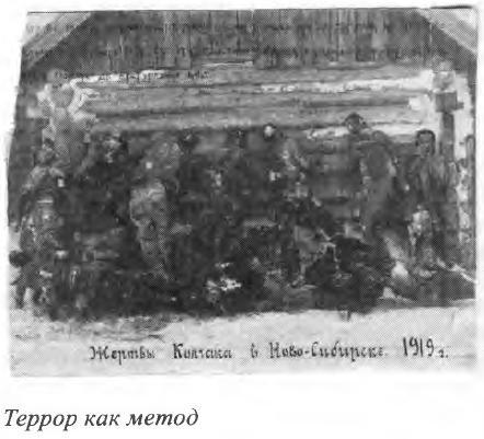 Жертвы Колчака в Новосибирске, 1919 год