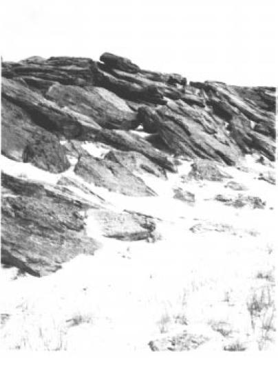 Каменная Могила, III тыс. до н.э., содержащая в своих гротах и пещерах около 160 каменныгх табличек с древнейшим в мире письмом.