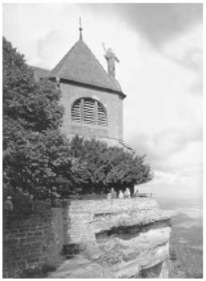 Гора и храм святой Одили