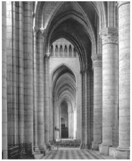 Интерьер Страсбургского собора