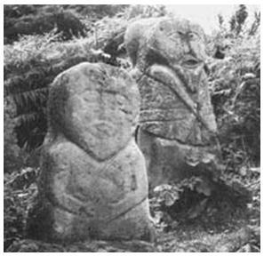 Статуи кельтских богов