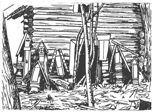 Севернорусские гробницы