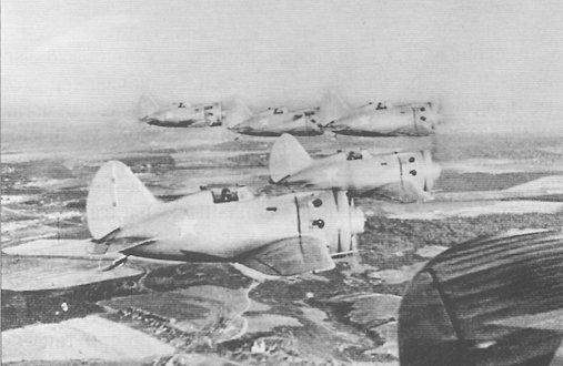 самолеты И-16