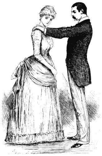Размолвка. Рисунок из журнала «Кэсселс». 1886
