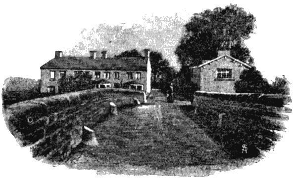 Кован Бридж. Рисунок из книги Дж. Э. Стюарта «Край Бронте». 1888