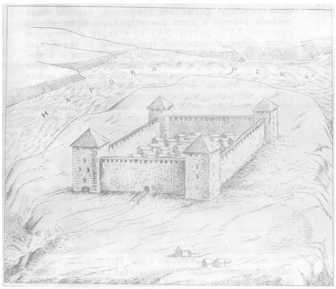 Крепость Ивангород. 1492 г