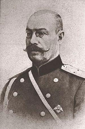 Сергей Николаевич Мясоедов, сорока девяти лет от роду, переводчик при штабе 10-й армии, обвиняющийся в шпионаже в пользу Германии