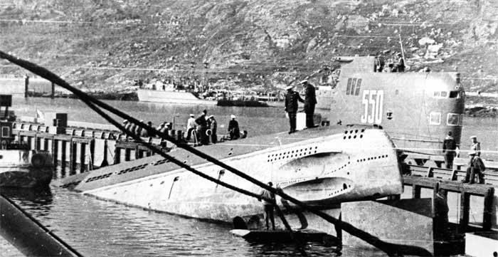 подводная лодка Б-37
