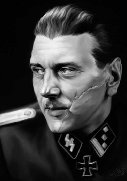 Оберштурмбаннфюрер СС Отто Скорцени