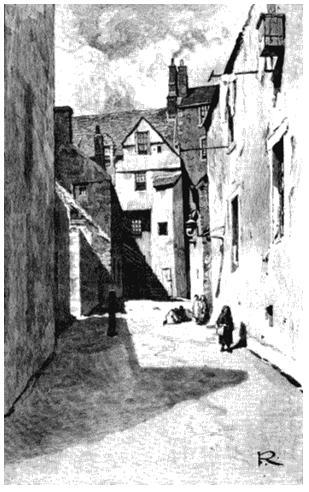 Трущобы Эдинбурга в середине XIX века