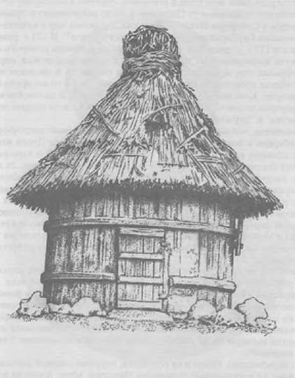 Круглый дом маркоманнов. Реконструкция