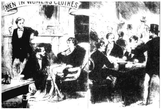 Боултон и Парк. Рисунок из журнала «Иллюстрированные полицейские новости». 1870