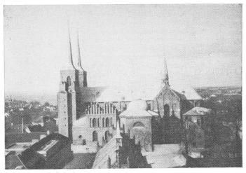 Собор в Рокилле. Дания, XIII в.
