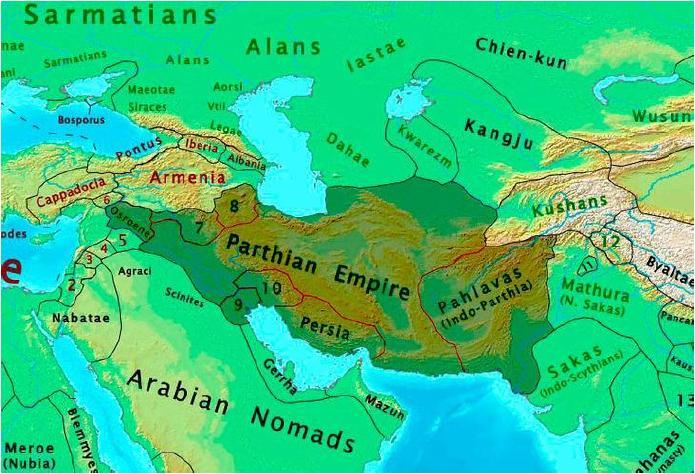 Парфянское царство