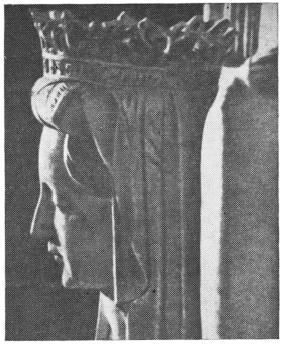 Королева Маргарита Датская. Часть надгробия