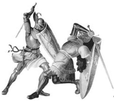 Рыцарский поединок