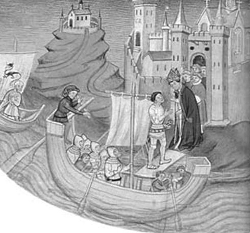 Приезд герцога Роллана в Сан8209;Мишель