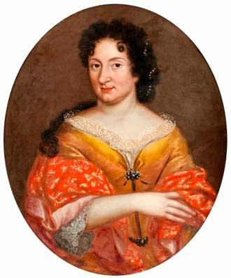 Более чем на десять лет она овладела сердцем Петра I, который даже собирался сделать ее русской царицей. Ее звали Анна Монс (1672-1714)