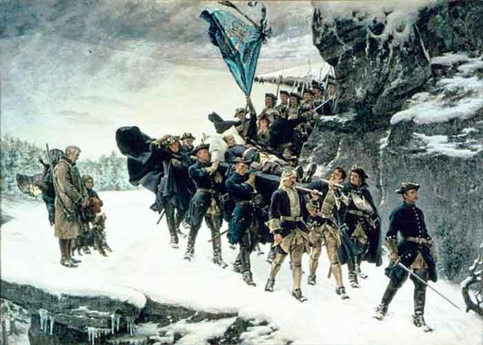«Перенос тела Карла XII в Швецию:.. Картина Седерстрёма, XIX в.
