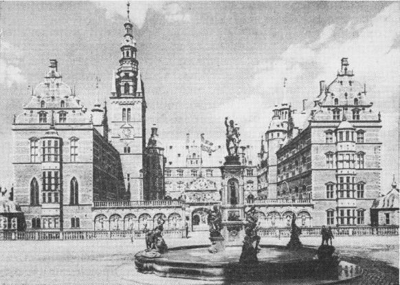 Королевский замок Фредриксборr, 1602-1620 rr.