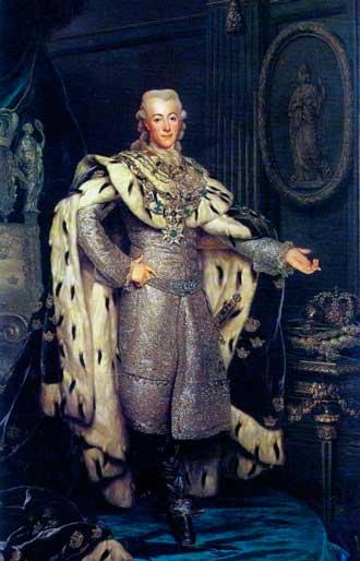 Король Густав III