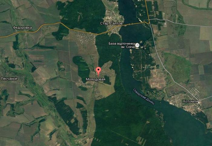 село Молодовая, Волчанский район Харьковской области