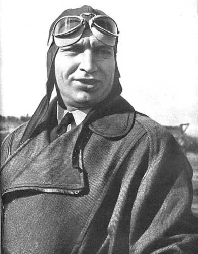 Чкалов Валерий Павлович. Фото С. Кудоярова. 1936 г.