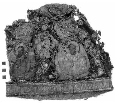 Рис. 6. Митра из погребения Иосифа Золотого
