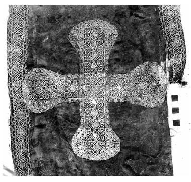 Рис. 4. Омофор из погребения Иринея Братановича